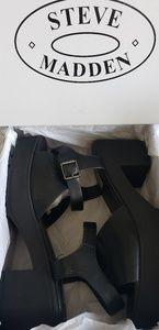 Steve Madden Gizza black chunky platform sandal